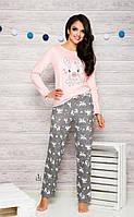 Пижама Oda 1193 Taro S, персиковый