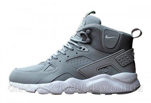 Мужские кроссовки Nike Huarache High Gray