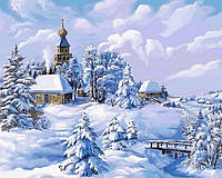 Набор для рисования DIY Babylon Середина зимы (VP818) 40 х 50 см