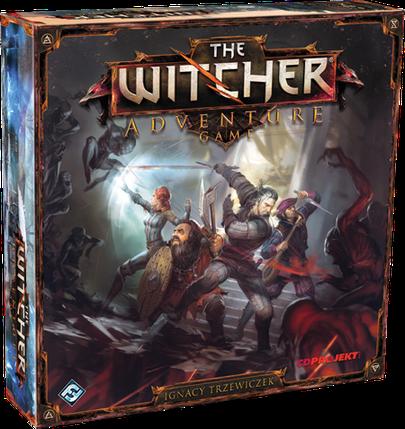 Настольная игра The Witcher: Adventure Game (Ведьмак: приключенческая игра) eng., фото 2