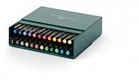 """Набор капиллярных ручек-кисточек Faber Castell PITT® ARTIST PEN """"BRUSH"""" STUDIO BOX набор 24 цвета, 167147"""