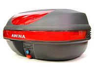 Качественный кофр для мотоцикла  AWINA 55X41X25
