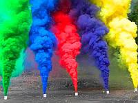 Набор Дыма для фотосессии - 5 разных цветов!