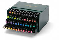 "Ручка-кисточка капиллярная Faber Castell PITT® ARTIST PEN 167148 ""BRUSH"" STUDIO BOX набор 48 цветов"