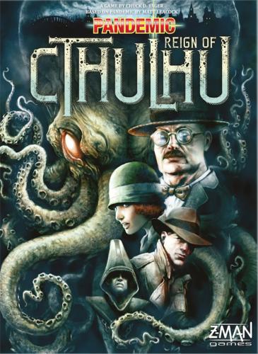 Настольная игра Pandemic: Reign of Cthulhu (Пандемия: Господство Ктулху) eng.
