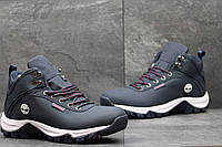 Мужские зимние кроссовки Timberland темно синие 3572