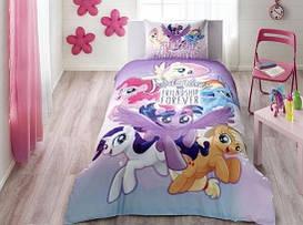 Постельное белье Tac Disney Little Pony Movie подростковое полуторного размера