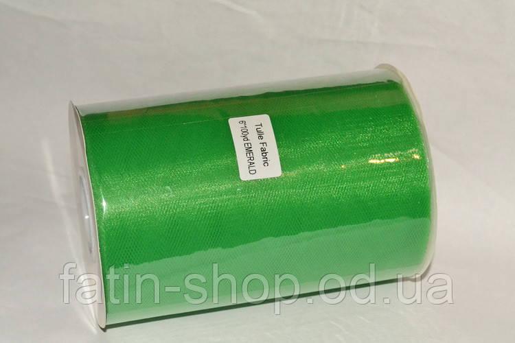 Фатин ширина 14,50см Emerald на метраж