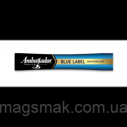 Кофе растворимый в стиках Ambassador Blue Label 2 г *25 шт, фото 2