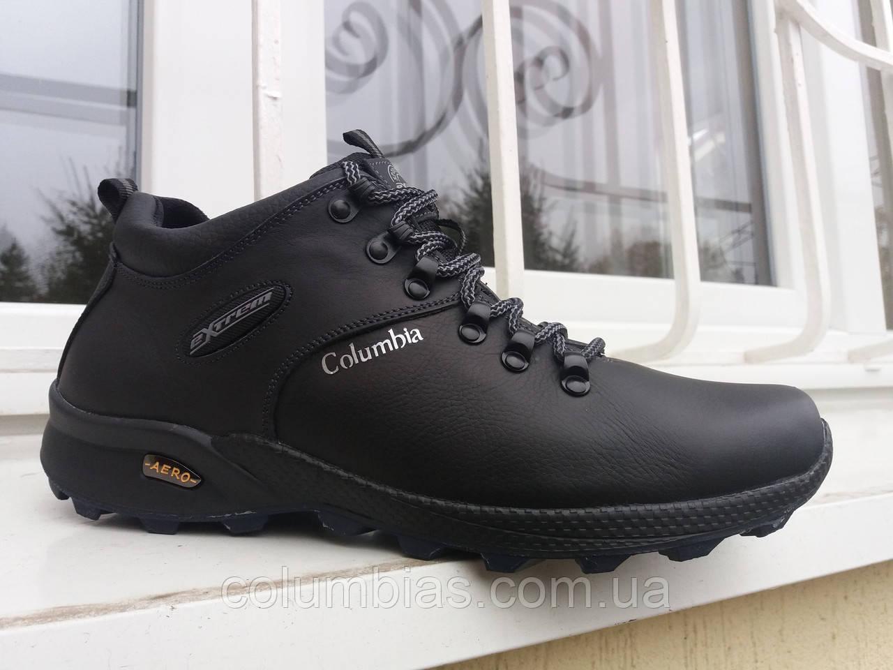Ботинки кожаные зимние Collumbia а4
