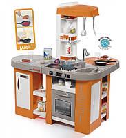 """Интерактивная кухня  """"Тефаль Студио"""" большая со звуковыми эффектами оранжевая Smoby 311026"""