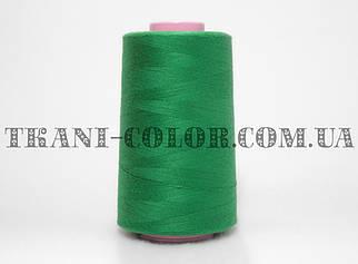 Нитка швейная 40/2 темно-зеленая 4000 ярдов