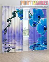 Фото шторы орхидея над водой