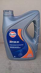 Масло АКПП Декстрон GULF ATF DX III 4л