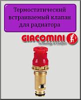 """Термостатический встраиваемый клапан 1/2"""" Giacomini R46CE"""