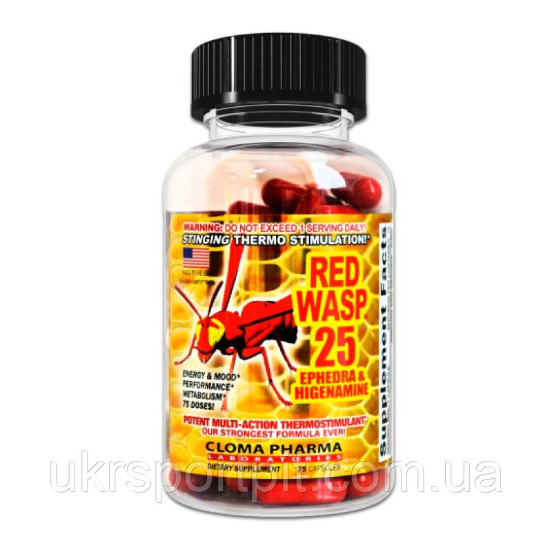 Red Wasp - Cloma Pharma - 75 капсул