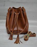 Молодежная сумка WL 23103 Люверс рыжего цвета