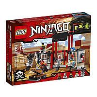 Лего ниндзяго Оригинал Побег из тюрьмы Конструктор LEGO Ninjago 70591