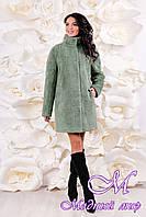 Женское теплое зимнее пальто (р. 44-54) арт. 1055 Тон 205