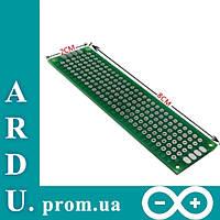PCB 2x8 двухсторонняя печатная плата [#2-1]