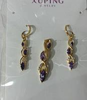 348 Позолоченные комплекты бижутерии Xuping