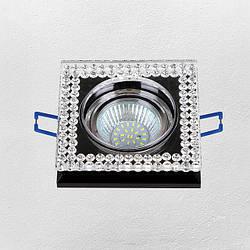 Точечный врезной светильник