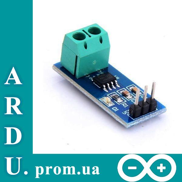 Модуль датчика тока ACS712 20A для Arduino [#8-7] - Ardu.prom.ua в Николаевской области