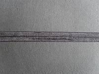 Бейка гладкая, ширина 15мм, темно-серая