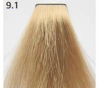 Краска для волос 9.1 Nouvelle Smart Очень светлый пепельный блондин 60 мл