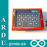 """Сенсорный дисплей 2,4"""" (2.4) TFT для Arduino [#6-1]"""
