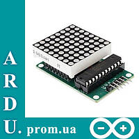 Светодиодная матрица 8x8 + драйвер MAX7219 [#2-8]