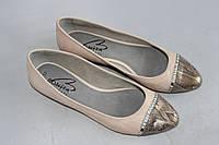 Кожаные балетки Bonita 37р., фото 1