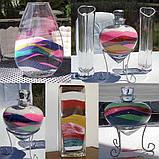 Декоративный наполнитель для ваз песок Малиновый, 400гр. фракция №4, фото 5