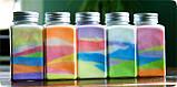 Декоративный наполнитель для ваз песок Малиновый, 400гр. фракция №4, фото 6