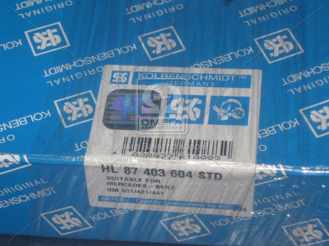 87403604   Вкладиші корінні STD MB OM401/OM421/OM441 (в-во Kolbenschmidt)