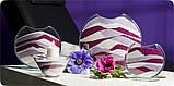 Декоративный наполнитель для ваз песок Малиновый, 400гр. фракция №4, фото 8