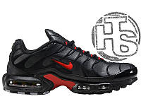 Мужские кроссовки Nike Air Max TN+ Leather Black/Red 44