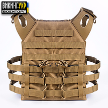 ПЛИТОНОСКА PLATE CARRIER COYOTE, фото 2