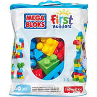 Конструктор Mega Bloks First Builders 80 дет. в ассорт. Мега Блокс