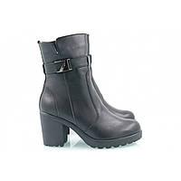 Женские Зимние кожаные ботинки 620-01