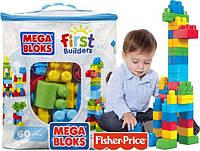Конструктор Mega Bloks First Builders  60 дет. в ассорт. Мега Блокс