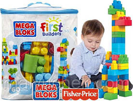 Конструктор Mega Bloks First Builders  60 дет. в ассорт. Мега Блокс