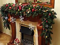 Новогодний , рождественские украшения - декор для офисов, квартир, отелей, магазинов.