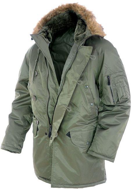 """Куртка мужская зимняя """"N3B Аляска"""". Mil-tec"""