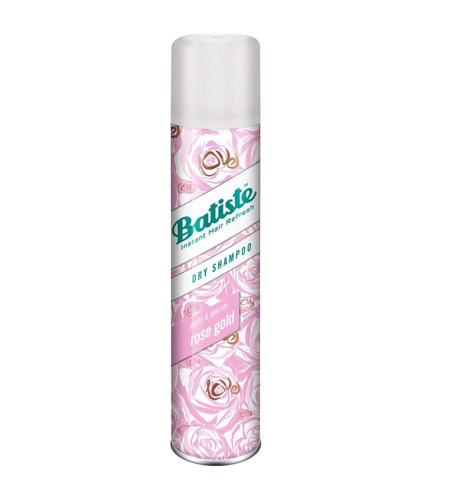 Сухой шампунь для волос Batiste Dry Shampoo Rose Gold 400 мл