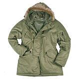 """Куртка мужская зимняя """"N3B Аляска"""". Mil-tec, фото 3"""