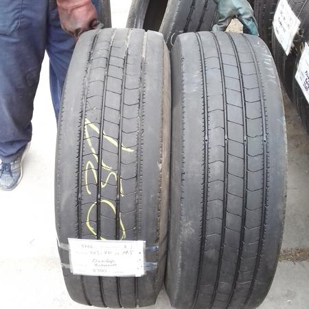Шины б.у. 265.70.r19.5 Dunlop SP344 Данлоп. Резина бу для грузовиков и автобусов