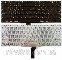 """Клавиатура для ноутбука Apple MacBook Air 11"""" A1370 A1465 MC505 MC506, черная, Прямой Enter"""