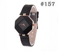 Женские часы черного цвета (157)