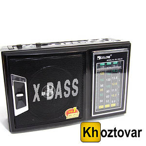 Радіоприймач GOLON RX-166 LED